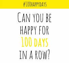 100 happy days logo