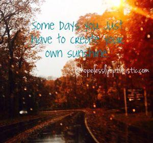 own sunshine