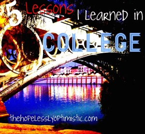 5 lessons(college)